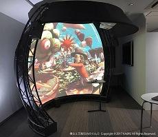 オリハルコンテクノロジーズ,展示会での曲面ディスプレイ機器レンタルサービス半額キャンペーン実施